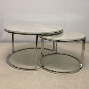 TABLE BASSE MADRID SILVER